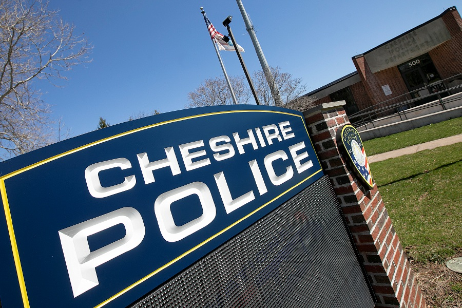 The Cheshire Police Dept., Thurs. Apr. 11, 2019. Dave Zajac, Record-Journal