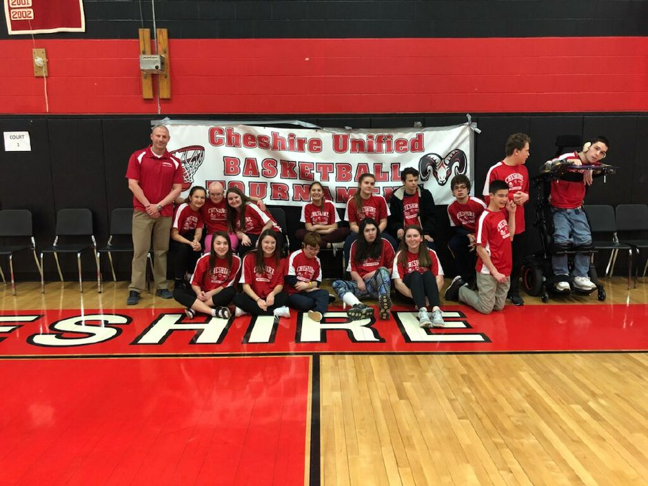 Submitted by Matt Guida. Unified Basketball team poses for a picture at CHS last year.