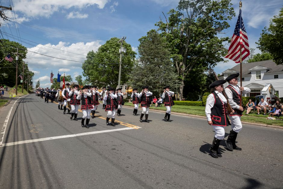 Tracey Harrington/Cheshire Herald – It was a beautiful day for the annual Memorial Day Parade, as the sidewalks along Route 10 were packed with onlookers as marchers made their way down the street.