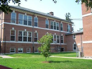 File photo – Humiston School and the Cheshire School District Central Office.