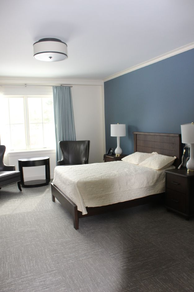 Mariah Melendez/Cheshire Herald – Client bedroom at Marbridge Retirement Center.