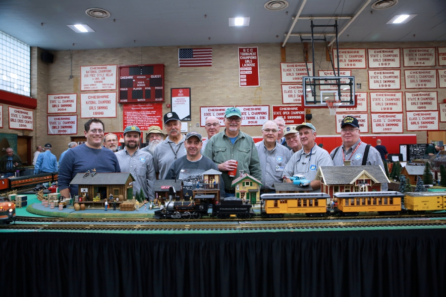 Tracey Harrington/Cheshire Herald – Model train enthusiasts gathered for the 2019 Fall Train Show, sponsored by the CHS Band Parents Association.