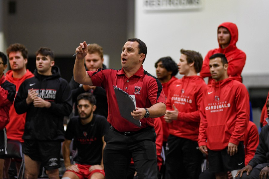 Cheshire resident Drew Black is entering his 23rd year as wrestling head coach and associate professor of physical education at Wesleyan University.